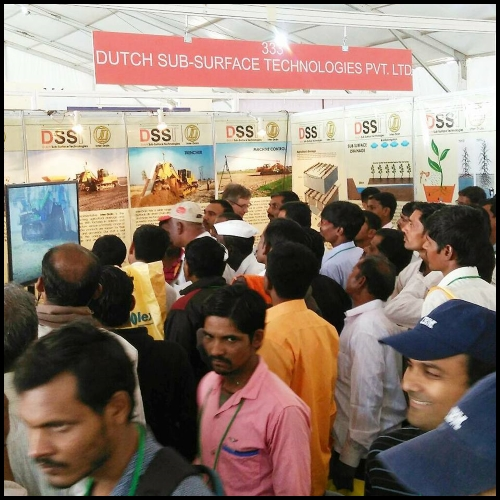 DSST and Inter Drain at KISAN 2017 Exhibition Pune Maharashtra