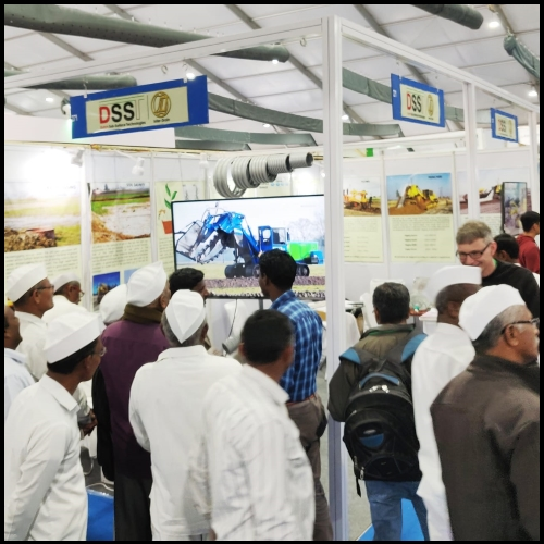 DSST and Inter Drain at KISAN 2018 Exhibition Pune Maharashtra